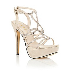Ravel - Nude 'Nightmute' strappy sandals