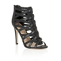 Ravel - Black 'El Reno' ladies heeled sandals