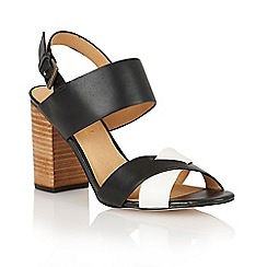 Ravel - Black 'Tucson' ladies heeled sandals