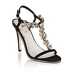 Ravel - Black 'New mexico' ladies stiletto heel sandals