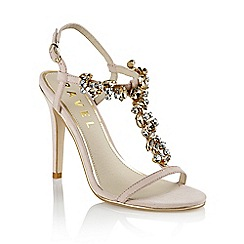 Ravel - Nude 'New mexico' ladies stiletto heel sandals