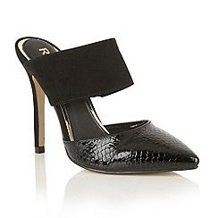 Ravel - Black 'Long Beach' court shoes