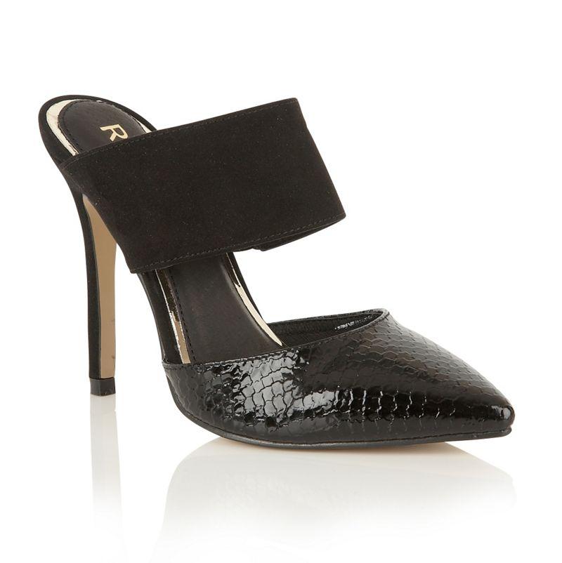 Ravel Black Long Beach court shoes