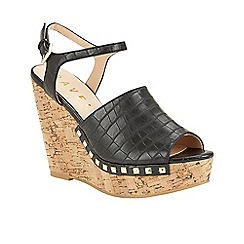 Ravel - Black 'Tacoma' open toe ankle strap sandals