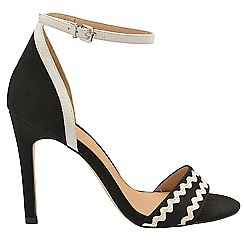 Ravel - Black 'Berkley' ladies stiletto heeled sandals