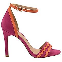 Ravel - Fuchsia 'Berkley' ladies stiletto heeled sandals