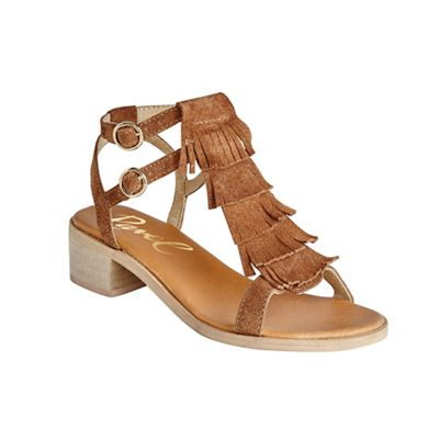 Ravel Tan ´Almira´ ankle strap stacked heel sandals - . -