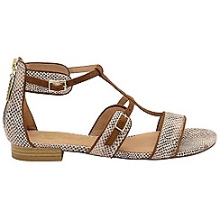 Ravel - Snake 'Ritzville' ladies open toe sandals