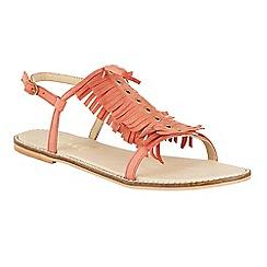 Ravel - Coral 'Lexington' open toe ankle strap sandals
