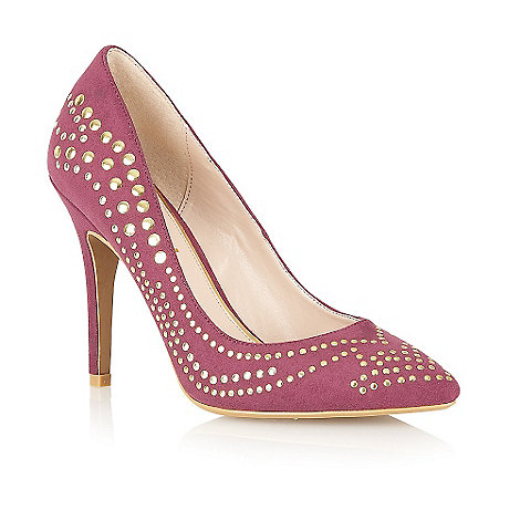 Ravel - Purple 'Maverick' pointed toe court shoes