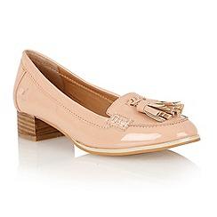 Ravel - Nude 'Magnolia' tassel loafers