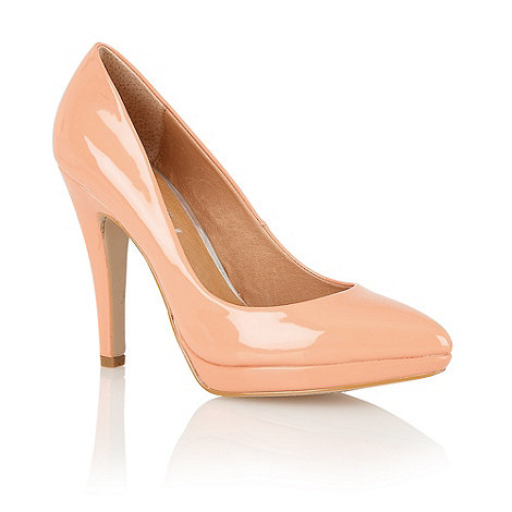 Ravel - Peach 'Snapdragon' court shoes