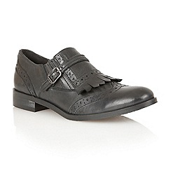 Ravel - Black 'Oregon' leather brogues