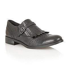 Ravel - Black 'Oregon' leather brogues