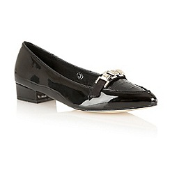 Ravel - Black patent 'Iowa' pointed toe pumps