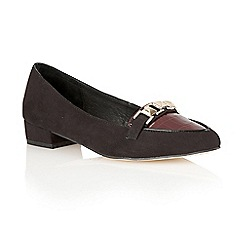 Ravel - Burgundy patent 'Iowa' pointed toe pumps