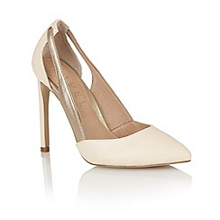 Ravel - Nude/bronze 'Omaha' ladies court shoes