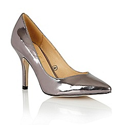 Ravel - Pewter 'Little Rock' ladies court shoes