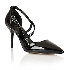 Ravel - Black 'Waco' ladies heeled pumps