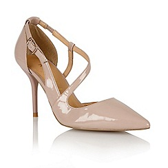 Ravel - Nude 'Waco' ladies heeled pumps