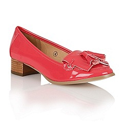 Ravel - Fuchsia 'Montgomery' ladies loafers