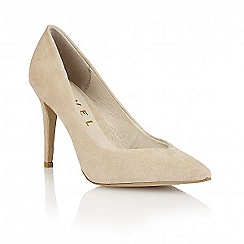 Ravel - Beige Suede 'Seattle' ladies heeled pumps