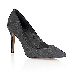 Ravel - Charcoal 'California' ladies heeled pumps
