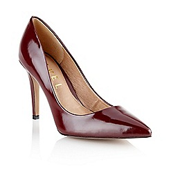 Ravel - Maroon 'Philadelphia' ladies high heeled shoes