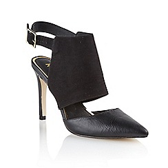 Ravel - Black 'Fort worth' ladies stiletto heeled shoes