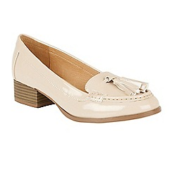 Ravel - Nude 'Brantford' ladies slip on loafers