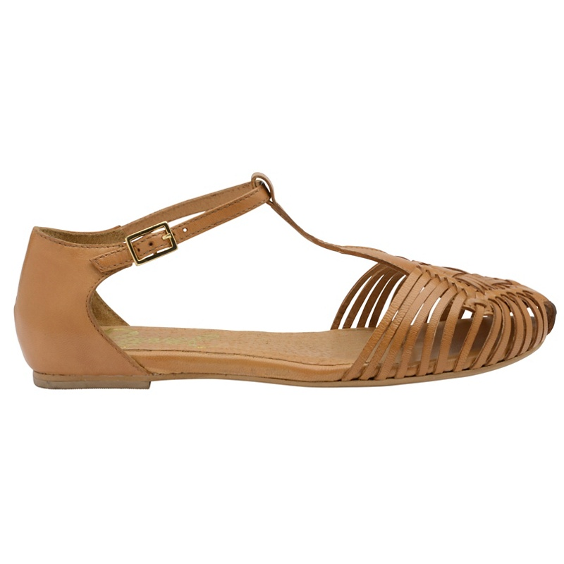 16f91af3e6c Womens Ravel Tan  anderson  Ladies Ankle Strap Sandals