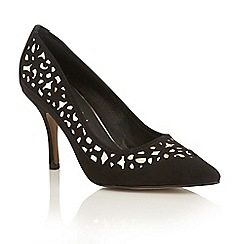 Ravel - Black 'Borden' pointed toe court shoes