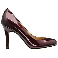 Ravel - Bordo 'Clanton' ladies high heeled court shoes