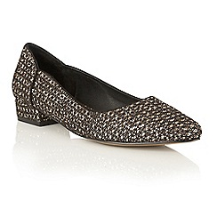 Ravel - Gold glitter 'Carson' pointed toe shoes