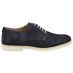 Ravel - Navy 'Travis' ladies lace up shoes