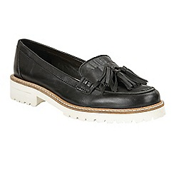 Ravel - Black 'Midway' slip-on tassel loafers