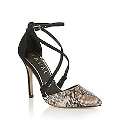 Ravel - Snake 'Limestone' court shoes