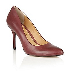 Ravel - Bordo leather 'Newton' court shoes