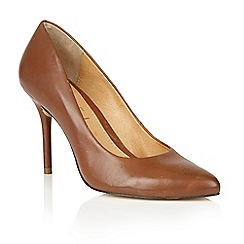 Ravel - Tan leather 'Newton' court shoes