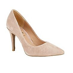 Ravel - Mink 'Hamden' stiletto heeled court shoes