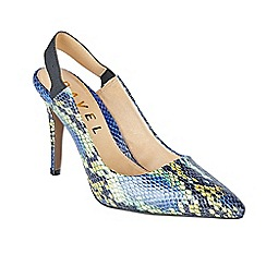 Ravel - Blue 'Trenton' stiletto heeled court shoes