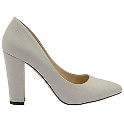 Ravel - Grey 'Hazelton' ladies high heeled court shoes