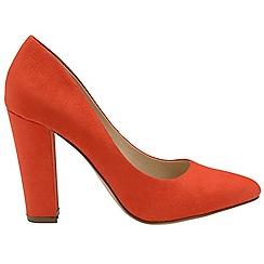 Ravel - Red 'Hazelton' ladies high heeled court shoes