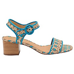Ravel - V&A Aqua 'Louise' peep toe ankle strap high shoes