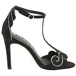 Ravel - Black 'Halle' V&A ladies high heeled shoes