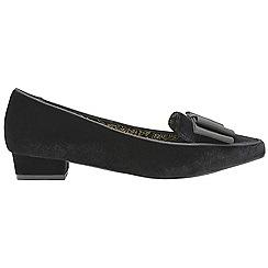 Ravel - Black 'Liceu' V&A ladies slip on shoes