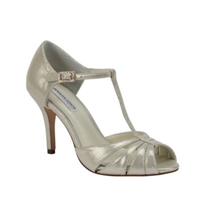 Benjamin Adams Shimmer leather ´Blake´ t-bar sandal - . -