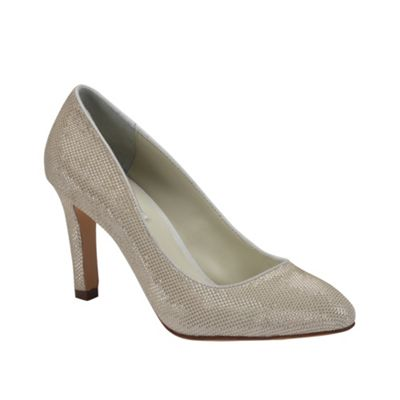 Benjamin Adams Classic ´Jean´ Glitter leather court shoe - . -
