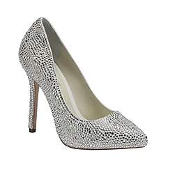 Benjamin Adams - Crystal encrusted pointed 'Sylvia' pump