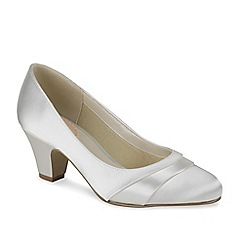 Pink by Paradox London - Classic round toe court with pleats shade